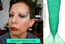 Halloween makeup design by Hilda / Ideas and looks for special holiday occasions.