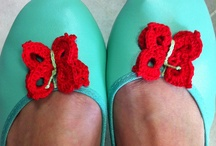 Complementos Zapatos - crochet on your shoes