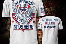 Geronimo E KIA tee / Tribute to the Navy Seals