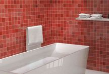 Red Wall and Floor Tiles / Choose from modern red brick tiles perfect for red kitchen tiles or bathroom tiles through to classic red quarry tiles suitable for indoor or outdoor environments.