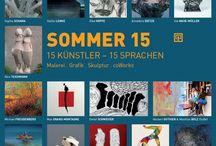 SOMMER 15 / AUSGEWÄHLT - die jährliche SOMMER-Ausstellung der Galerie setzt wieder mit über 40 Werken einen spannenden Fokus auf die Dresdner Kunst der Gegenwart, u. a. dabei neuere Werke von SOPHIA SCHAMA, ELKE HOPFE, SUTTER/SCHRAMM oder STEFAN LENKE.