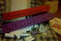 Wedding DIY / Brainstorming Ideas for the Wedding