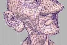 CG - Models and Sculpts