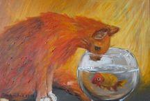 cats by maria melenchuk