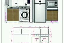 cocina dimensiones