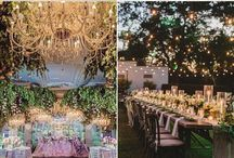 Enchanted Forest Mood Board for Styled Shoot