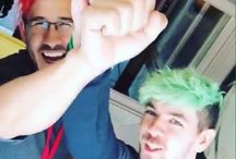 Markiplier & JackSepticEye / Every day...new pic ^^ <3