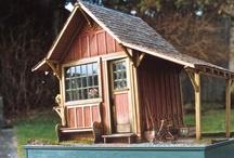 miniature sheds
