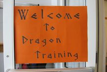 Dragon training (3rd birthday)