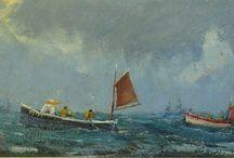 Robert Jones paintings / paintings by Robert Jones, contemporary artist from Cornwall