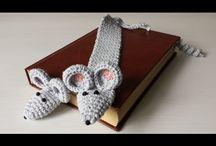 szydełko zakładka do książki