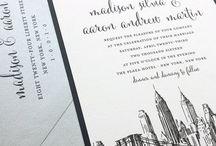 Wedding invitations / svatební oznámení