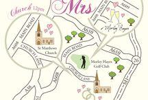 Wedding maps / Wedding maps