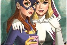 super girls / comics