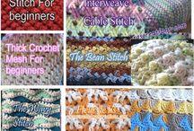 . Meladoras crochet stitches