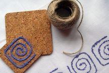 Razítkování na textil