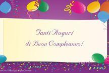 Cartoline di compleanno / Cartoline auguri compleanno, cartoline di compleanno, biglietti di buon compleanno, cartoline di buon compleanno originali