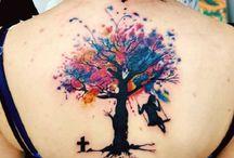 árvores tattoo