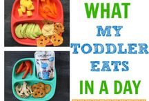 Toddler meals and snacks