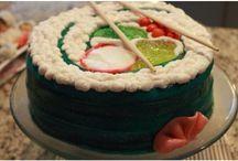 Sushi Cake Birthday