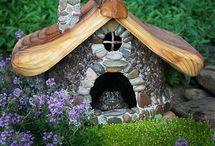 miniature garden ideas / by Lisa Butler
