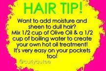 Hair tips!