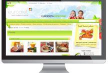 Dr Mandryk Diet System / Portal dietetyczny www.eurodieta.pl - logowanie przez Facebook Produkty dietetyczne Eurodiety - nr 1 w Europie Przepisy dietetyczne (oparte na niskim IG) Kolorowanki i gry dla najmłodszych Blog Programy TV (Dr Mandryk TV) Platforma e-pacjent: monitoring kuracji, konsultacje on-line, platforma B2B dla terapeutów)