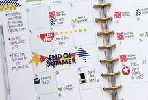 Monthly Spread ideas