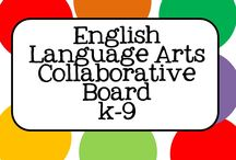 ELA English Language Arts Collaborative Board (PreK-9) / Follow the board and send a message to schi60@hotmail.com with your Pinterest ID  if you would like to pin here. A fun, Common Core Aligned, Collaborative Board for PreK-9, Elementary and Middle School, for ELA Teachers, Parents and Education Supporter.
