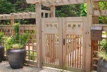zahrada vstup