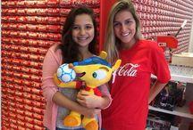 Casa Coca-Cola / Localizada no Maracanã, a casa foi visitada por diversos alunos do Rio de Janeiro, com o intuito de mostrar aos alunos um pouco mais sobre o mundo do futebol.