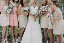 for the ladiesssssssss / some blushy bridesmaid dress ideas  / by kristin vita