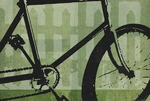 """Evansville Bicycle Posters bt John Evans / Evansville Modern-Vintage Cycling images created by Graphic designer and illustrator John Evans whose love of both cycling and art results in a visual celebration of the rich history of cycling and early advertising posters. """"Evansville"""" is a play on the artist's name and represents that mystical place where the roads are smooth, the climbs are scenic, the descents are fast and the wind is always at your back."""