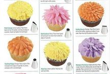 CAKE - CUP CAKES & DECORATING IDEAS / IDEAS, INSTRUCTIONS, KITCHEN GADGETS NEEDED, ETC.