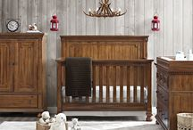 - Beckem Collection - / Add some natural delight to your nursery room with the Beckem Collection. Included in the collection is a 4-in-1 convertible crib, a toddler guard rail, wooden bed rails, double dresser, changing topper, nightstand, chifforobe, and bookcase,. All pieces sold seperately.