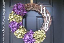 Wreaths / by Kari Duesenberry Kohler