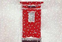 karácsony pirosban