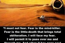 Dune / A collection of Dune and Frank Herbert stuff.  / by Donna Polk