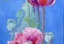 landschap schilderen acrylics