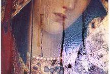 Madonna  és angyalok