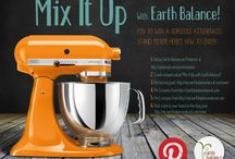 """Mix It Up With Earth Balance!"" / by Polly Klidaras"