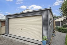 Garages / Whether you're looking for a single car garage or a four car skillion roof garage, we can design and supply the perfect garage for your needs.