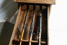 wood gun case