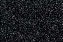 Colour palates for charcoal carpet