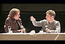 Axel Kicillof y Alejandro Dolina