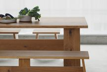 Wood tables / A wide range of tables using wood
