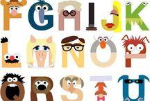 ABC MUPPETS / Abecedario de The Muppets