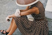 thgs to buy / White dress with brown boots