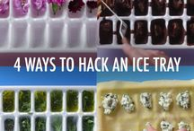 Icecube tray hacks