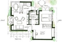 Tiny house ... Floorplans / The floorplans to small to tiny houses / by Renae Ba